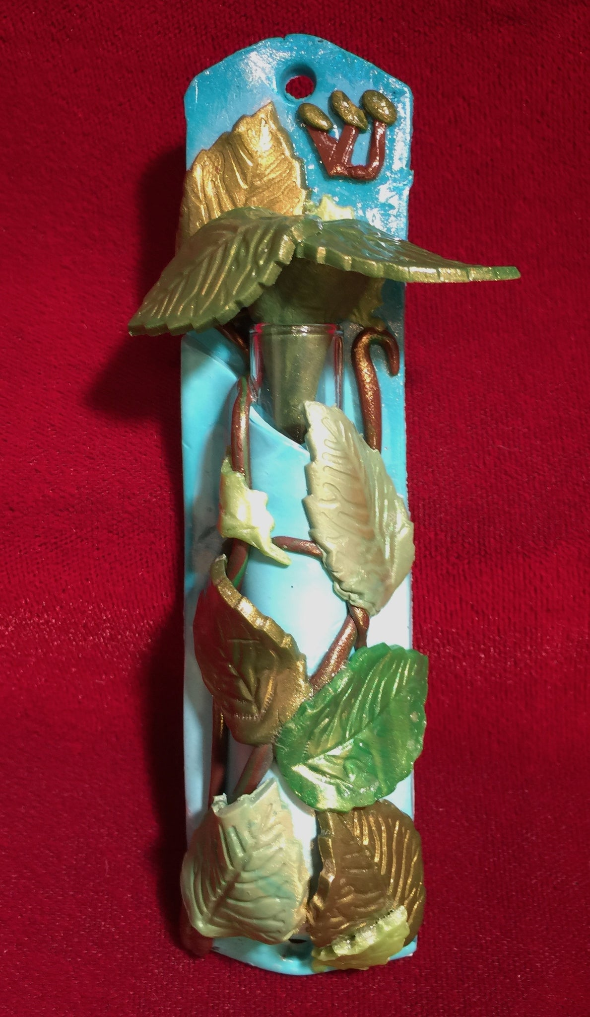 Leaves Mezuzah