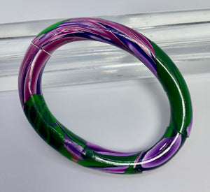 Purple/Green Split Bangle