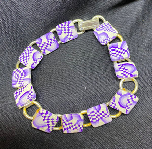 Small Square Tile Bracelet 4