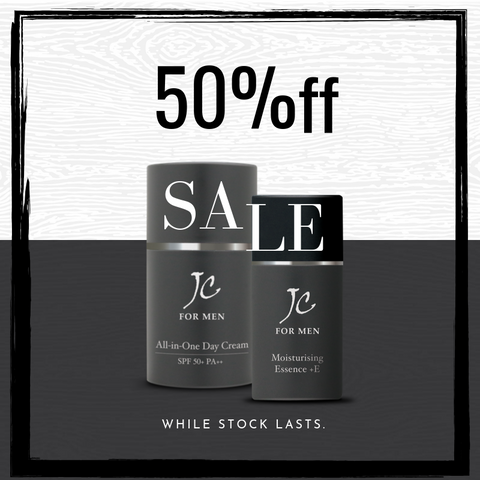 MEN Day Cream + Essence - 50% off