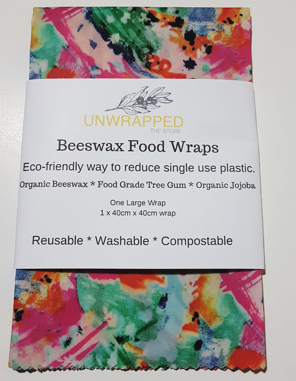 UNWRAPPED BEESWAX FOOD WRAP LARGE - seo-img