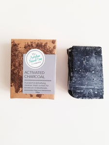 THE ANSC ACTIVATED CHARCOAL BAR UNSCENTED - 100g - seo-img