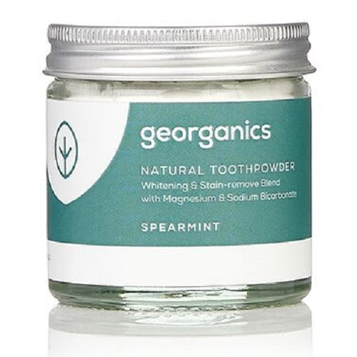 GEORGANICS NATURAL TOOTHPOWDER - SPEARMINT 60ML - seo-img