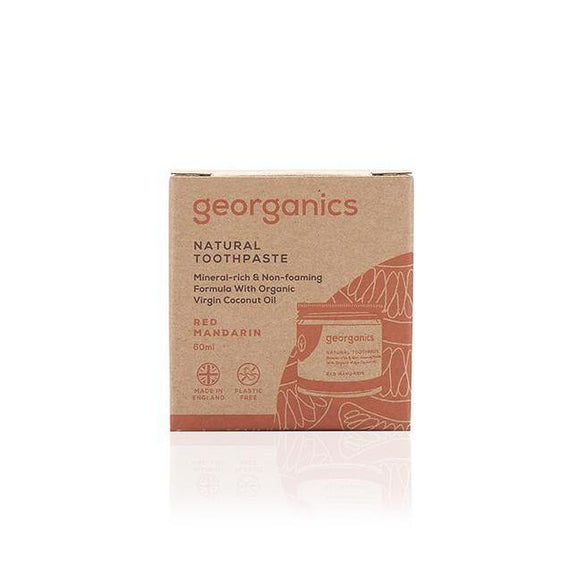 GEORGANICS NATURAL TOOTHPASTE– MANDARIN 60ML - seo-img