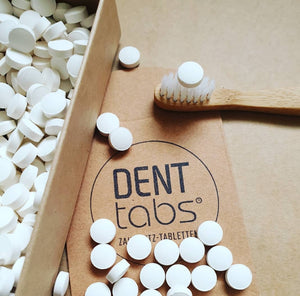 DENTTABS - TOOTH TABLETS WITH FLUORIDE 62 TABLETS - seo-img