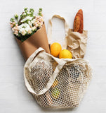EVER ECO COTTON NET TOTE BAG - SHORT HANDLE - seo-img