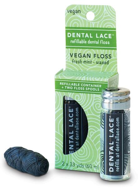 DENTAL LACE FLOSS - REFILLABLE + VEGAN - seo-img