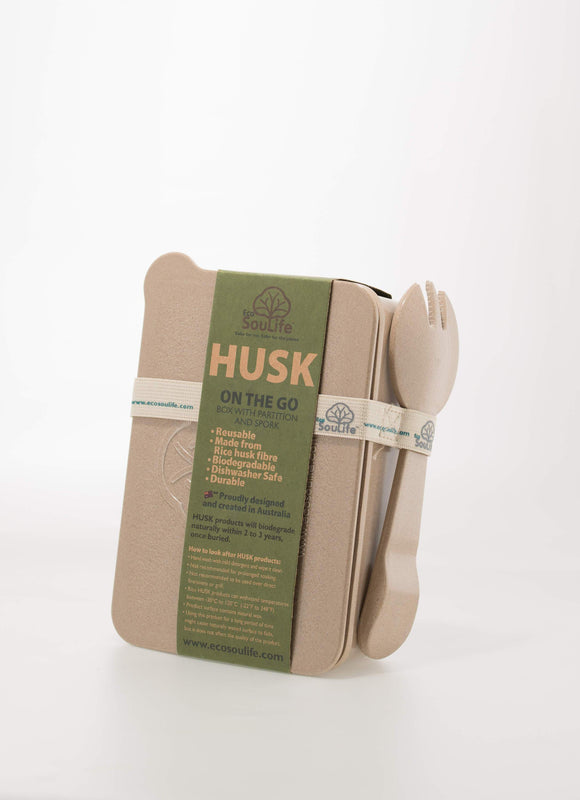ECO SOULIFE HUSK ON THE GO - LUNCHBOX AND SPORK - seo-img
