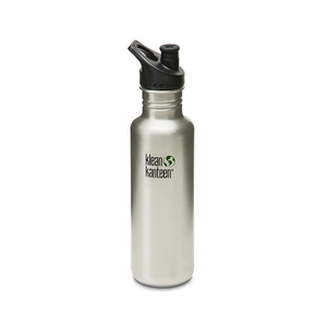 Klean Kanteen Classic 27oz 800ml Stainless Steel Water Bottle - Brushed Steel - seo-img