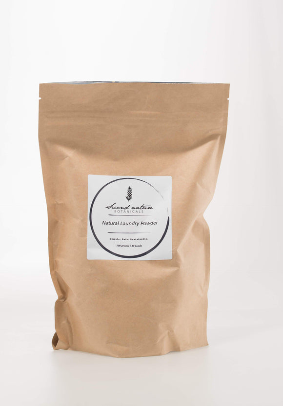 SECOND NATURE BOTANICALS NATURAL LAUNDRY POWDER 700g - seo-img