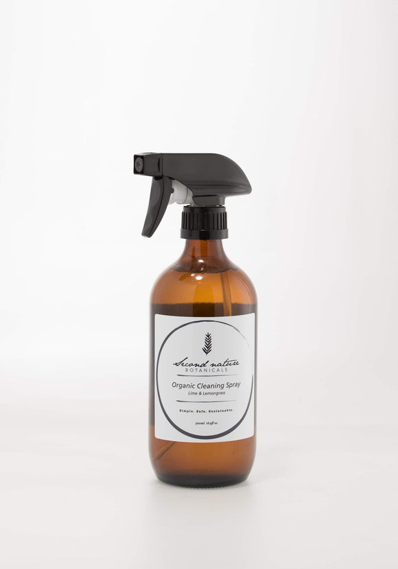 SECOND NATURE BOTANICALS ORGANIC CLEANING SPRAY 500ml - seo-img