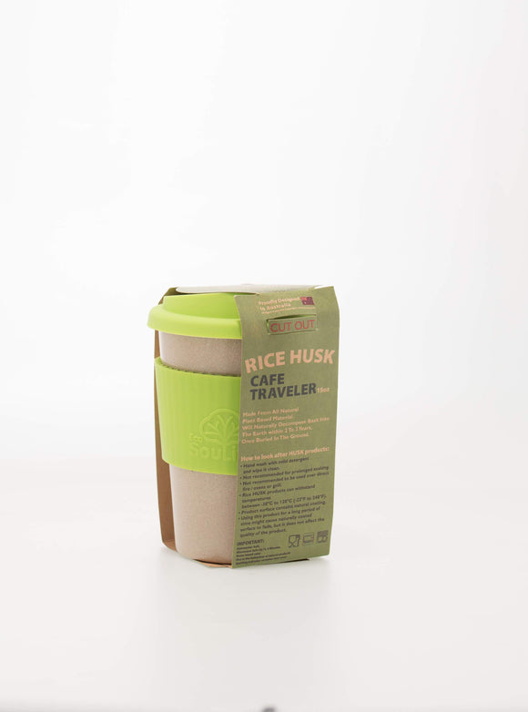 ECO SOULIFE RICE HUSK TRAVEL CUP 443ml - seo-img
