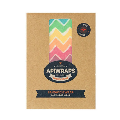 APIWRAPS REUSABLE BEESWAX WRAPS - SANDWICH WRAP - seo-img