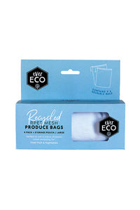 EVER ECO REUSABLE PRODUCE BAGS 4 PACK + STORAGE BAG - seo-img