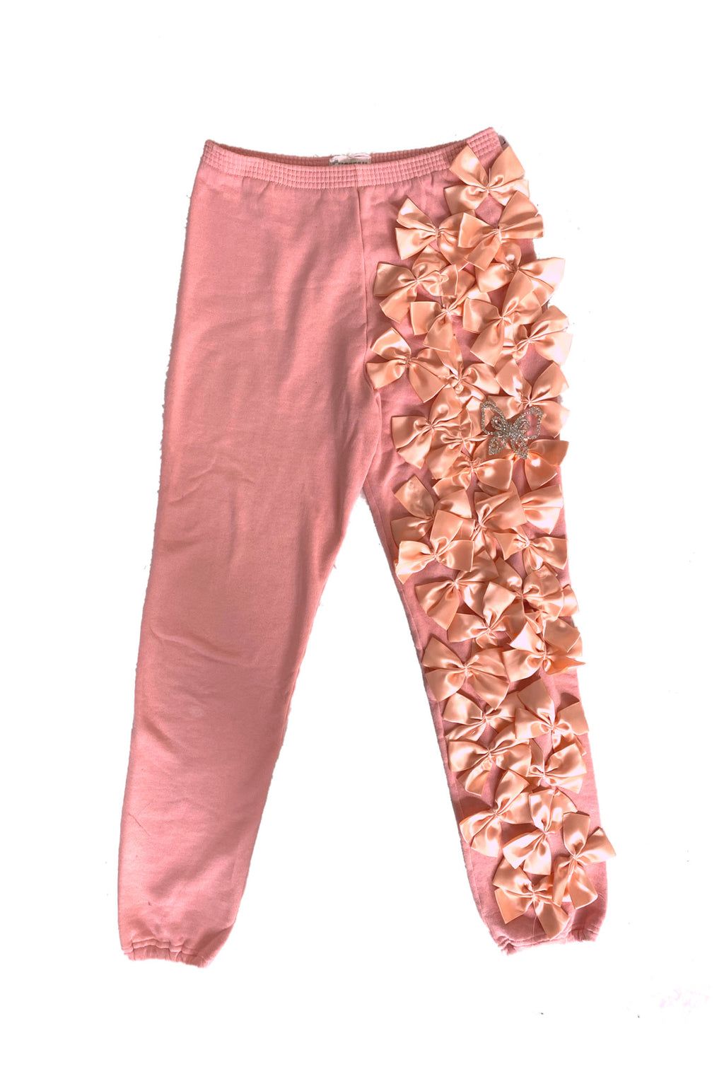 Pink bow sweats