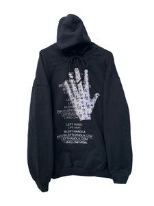 Louis left hand patch hoodie
