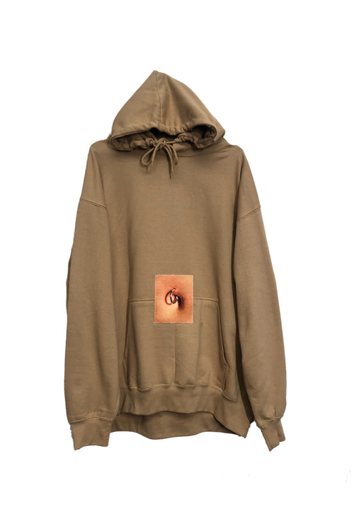 Belly button hoodie