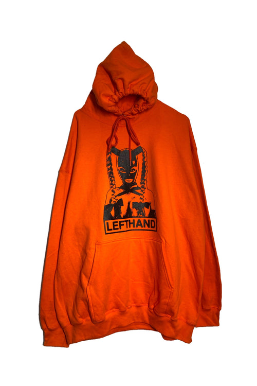 XL ORANGE JULIE HOODIE