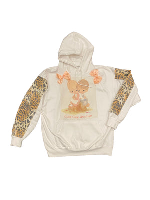 Leopard moments hoodie