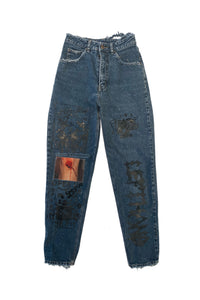 Navy boo boo jeans