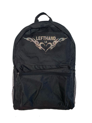 Left hand backpack