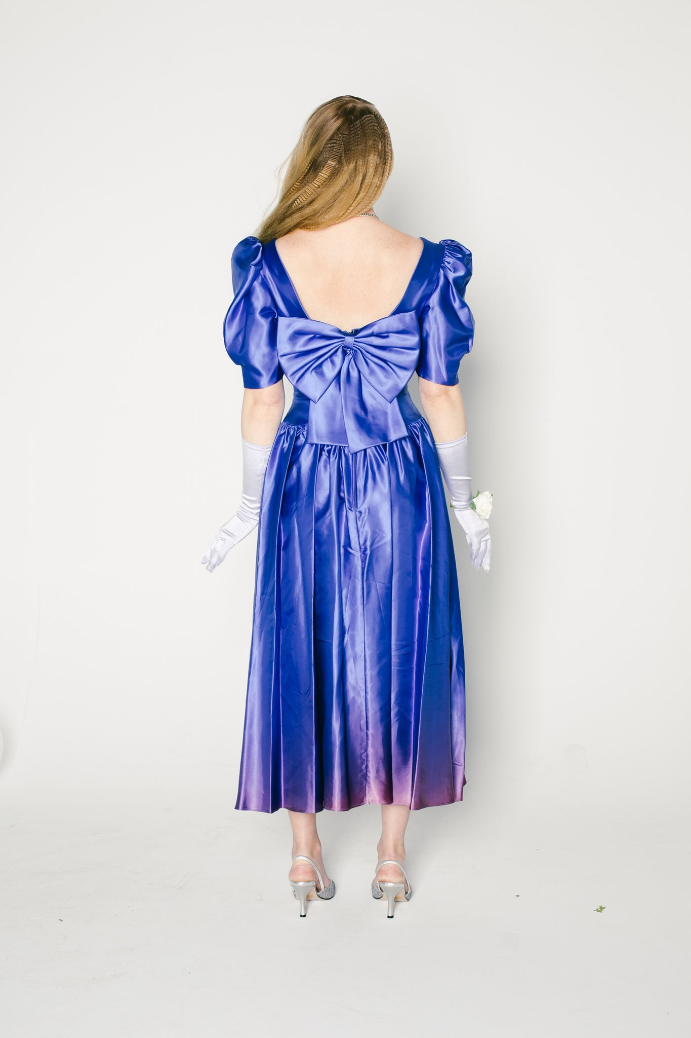 Royal Blue Hazard Dress
