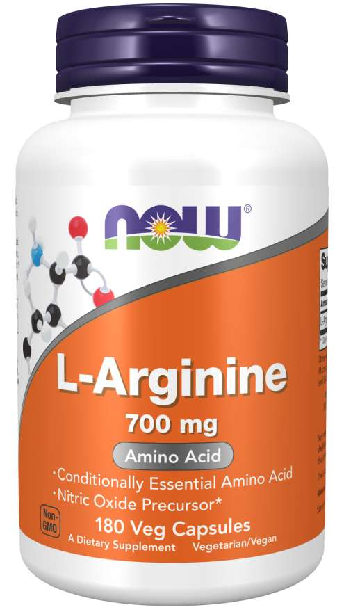 NOW Foods L-Arginine 700 mg - 180 Veg Capsules