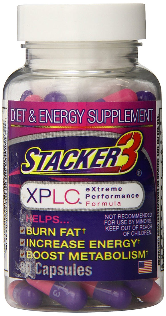 Original Stacker 3 XPLC Extreme Performance Formula, 80 Capsule