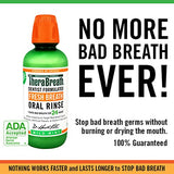 TheraBreath Fresh Breath Oral Rinse Mild Mint Flavor, 16 Ounces, Two Pack