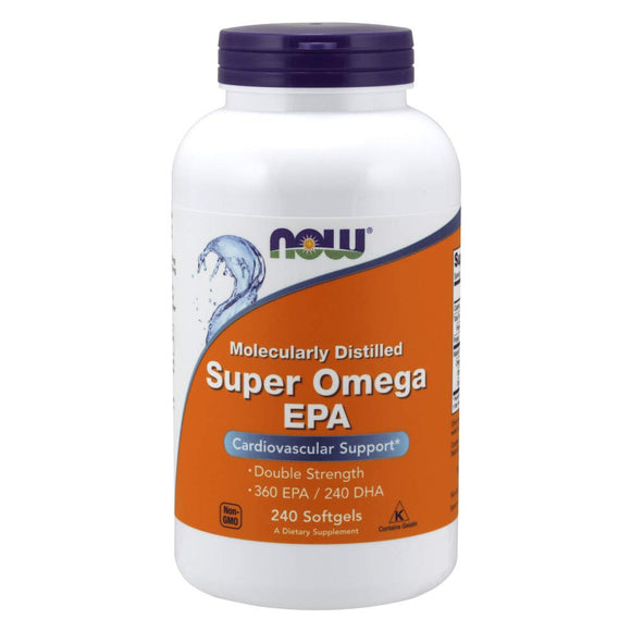 NOW®Super Omega EPA, 1200 mg, 240 Softgels