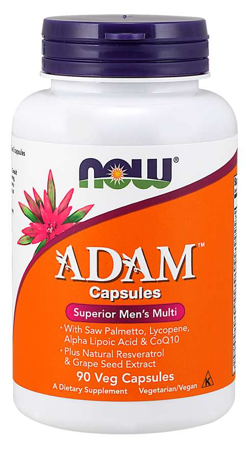 NOW Foods ADAM 3/Day Formula 90 Vegetable Capsules