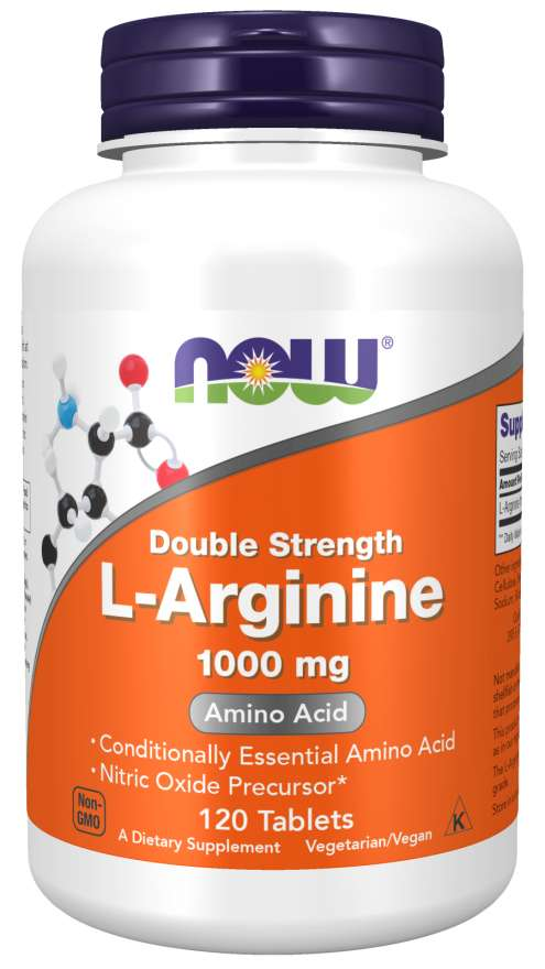 NOW Foods L-Arginine 1,000 mg 0 120 Tablets