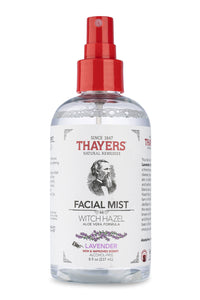 Thayers Alcohol-Free Witch Hazel Facial Mist Lavender, 8 Fluid Ounce