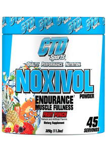 CTD NOXIVOL Endurance Fruit Punch - 45 Servings