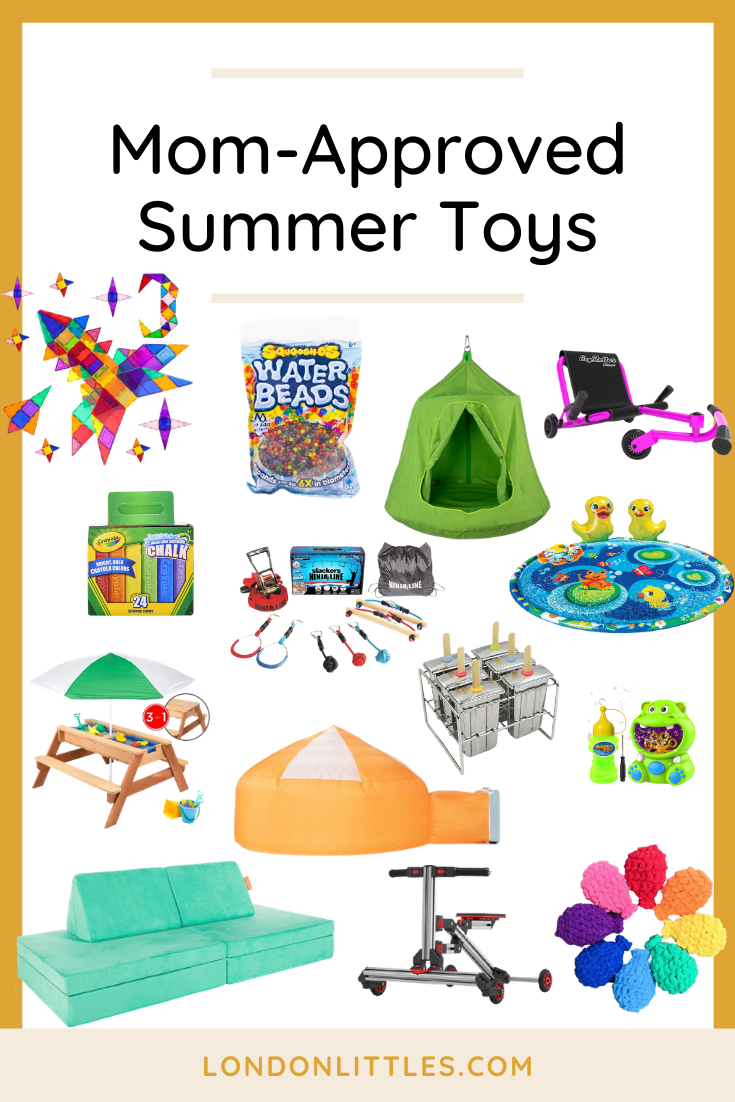 Mom-Approved Summer Toys