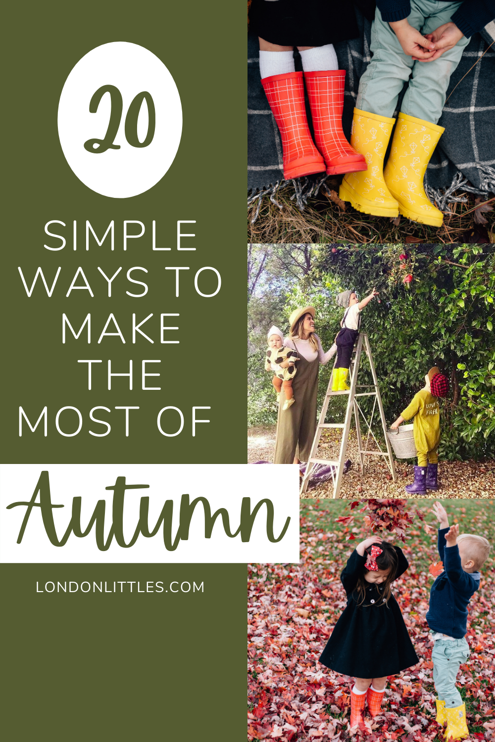 Fall Autumn Family Fun Simple Ideas Bucket List