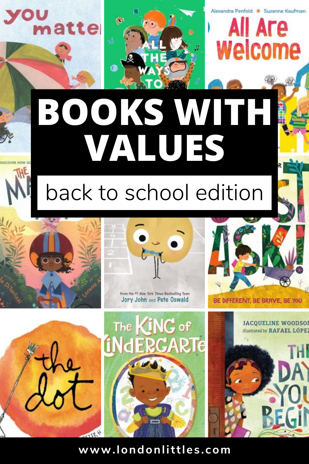 back to school books for kids about kindness