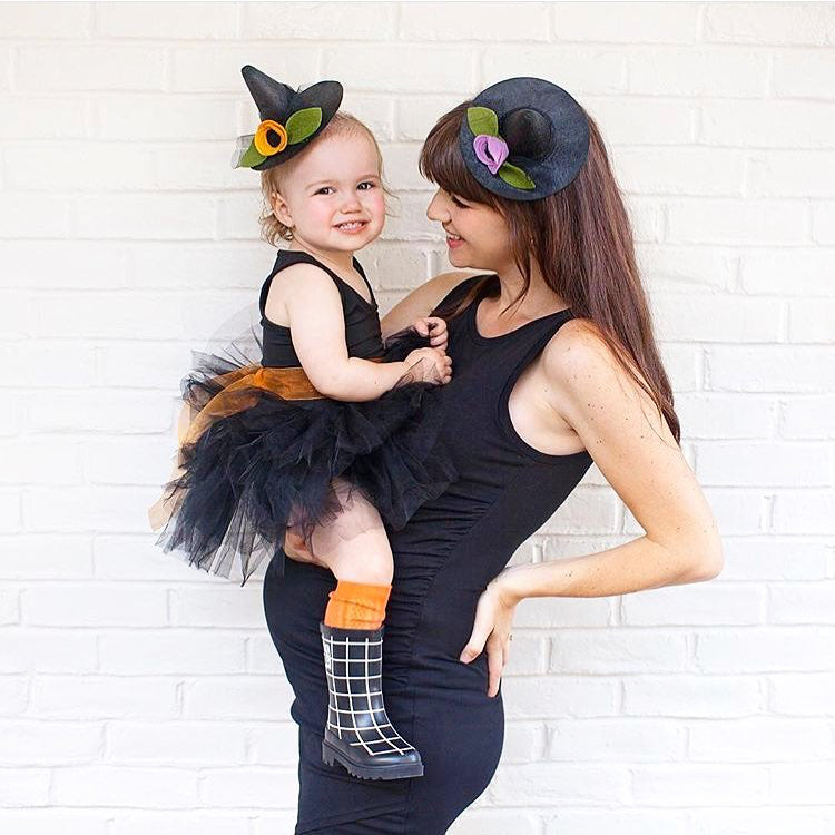 baby halloween costume witch