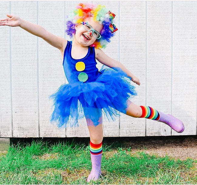 diy kids halloween costumes clown easy