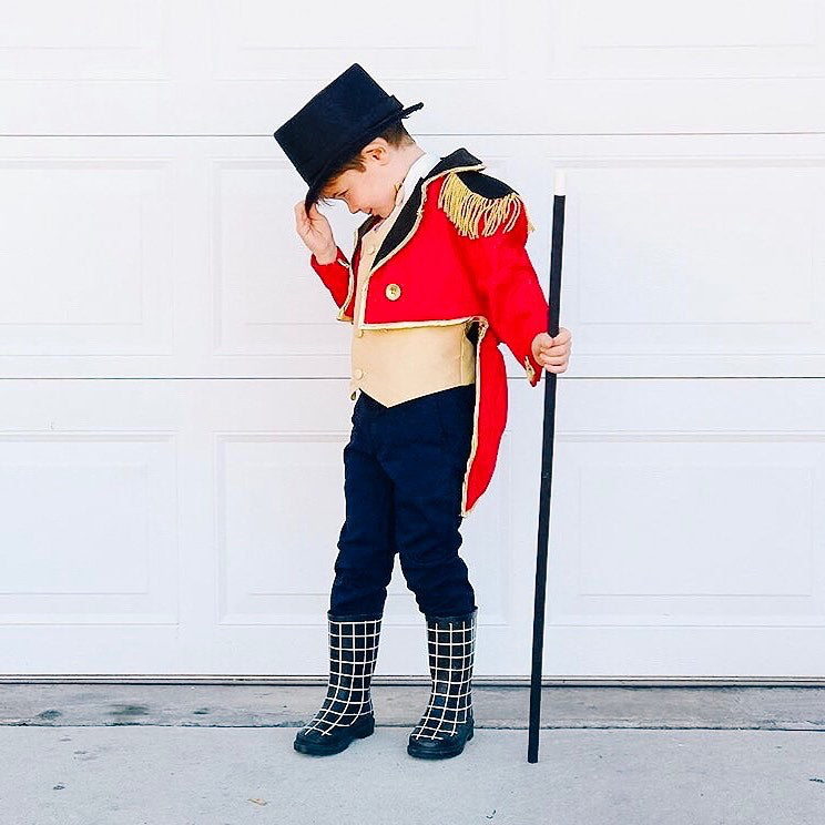 the greatest showman kids halloween costume diy