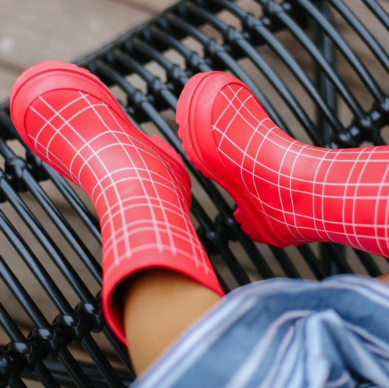 Factory Seconds - King's Cross Red Rain Boot
