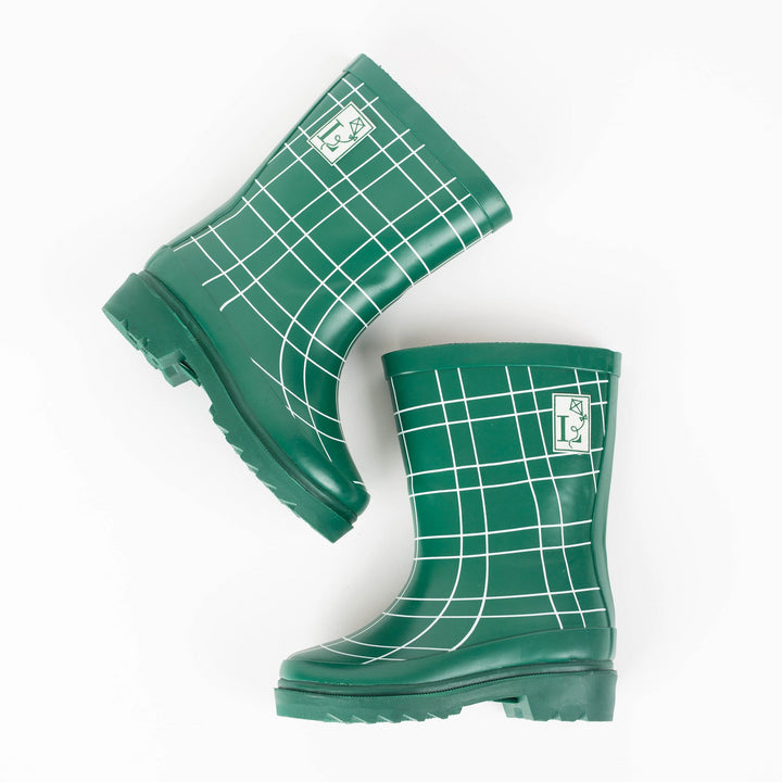 Factory Seconds - King's Cross Green Rain Boot