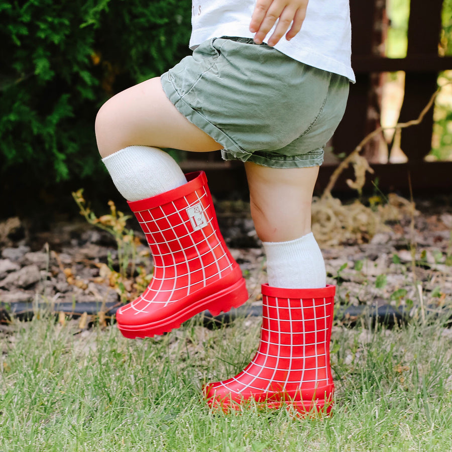 Factory Seconds - Trafalgar Red Rain Boot