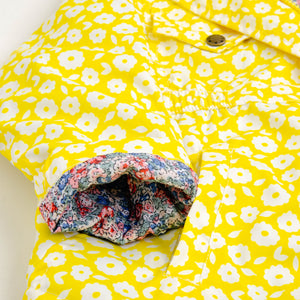 Lily Yellow Floral Jacket