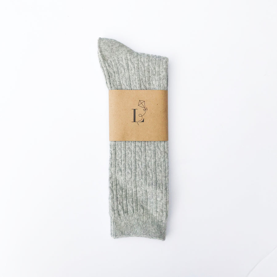 Canterbury Knee Socks - Gray