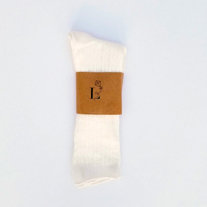 Canterbury Knee Socks - White