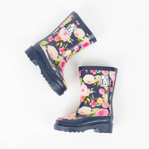 Kensington Navy Rain Boot