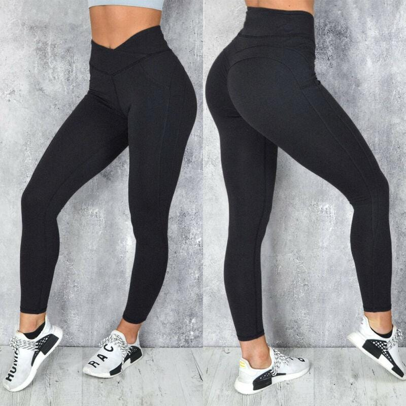High Waisted Push Up Leggings