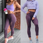 Breathable Energy Fitness High Waisted Leggings