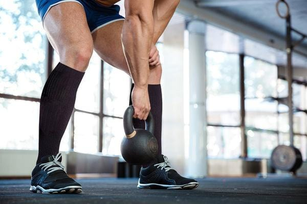 Copper Compression Socks help you work out in the gym much better. The Copper Infused Socks help blood flow circulation in calves while doing cardio.